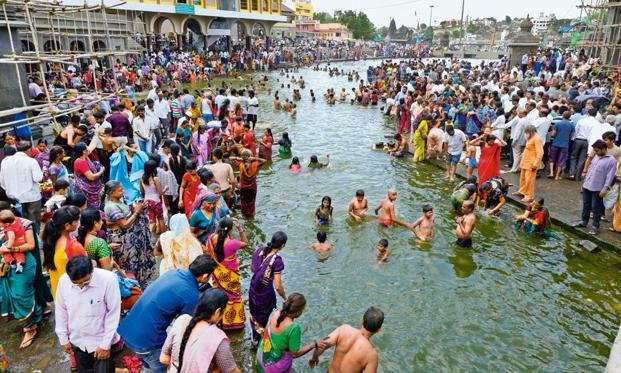 Last week, at least 27 pilgrims died and 20 others were injured in a stampede at a major bathing spot on the banks of Godavari river. Photo: Abhijit Bhatlekar/Mint